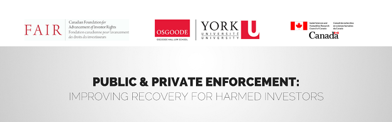 Public & Private Securities Enforcement: Securing Recovery for Harmed  Investors