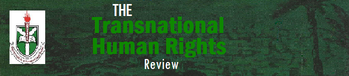 The Transnational Human Rights Review