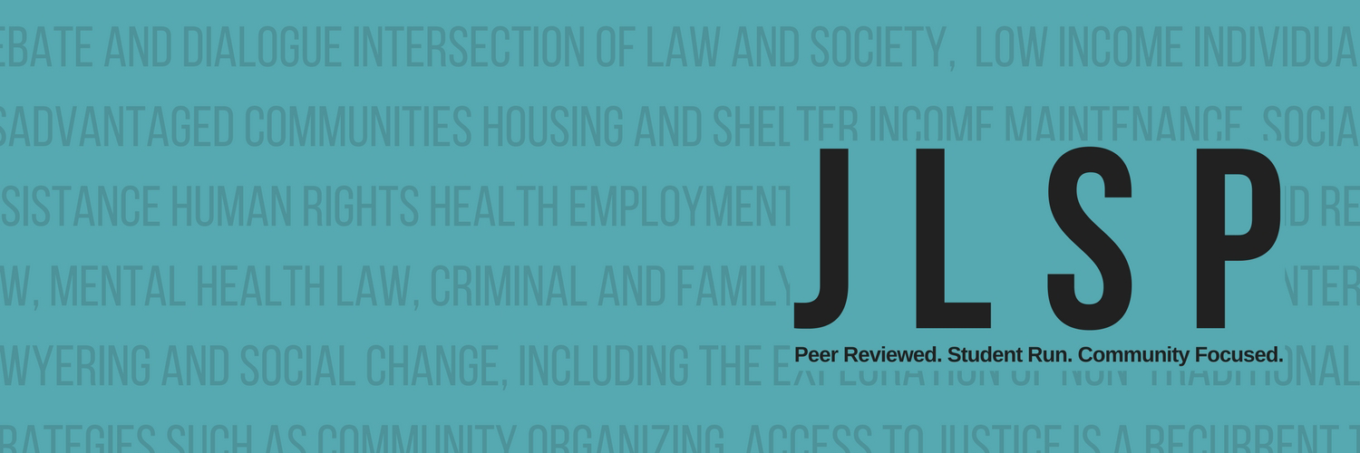 Journal of Law and Social Policy