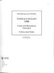 Conflict of Laws: Cases and Materials (Volume 1): 1998-99