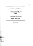 Conflict of Laws: Cases and Materials: 1999-2000 by Janet Walker