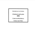Conflict of Laws: Cases and Materials: 2004-05