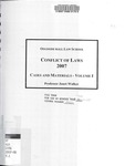 Conflict of Laws: Cases and Materials (Volume 1): 2007-08 by Janet Walker