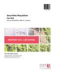 Securities Regulation: 2015-16 by Dale H. Lastman