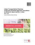 Urban Transportation Planning: A Decision-Oriented Approach (2nd edition) by Michael D. Meyer and Eric J. Miller
