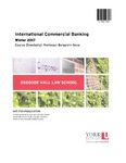 International Commercial Banking by Benjamin Geva
