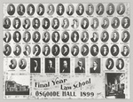 Osgoode Hall Law School Class of 1899