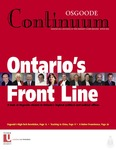 Continuum: Volume 25, Number 3 (Winter 2003)