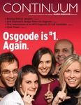 Continuum: Volume 32 (Winter 2008) by Osgoode Hall Law School of York University