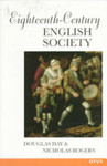 Eighteenth-Century English Society: Shuttles and Swords