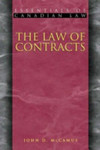 The Law of Contracts [1st Edition]
