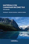 Materials on Canadian Income Tax, 15th edition by Tim Edgar, Martha O'Brien, and Arthur J. Cockfield