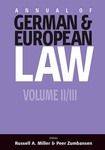 The Annual of German & European Law, Vols. 2 & 3