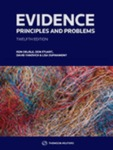 Evidence: Principles and Problems, 12th ed.