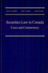 Securities Law in Canada: Cases and Commentary, 1st Edition