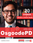 OsgoodePD: Twenty Years and Twenty Stories
