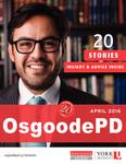 OsgoodePD: Twenty Years and Twenty Stories by Osgoode Hall Law School of York University