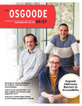 The Osgoode Brief (Fall 2017) by Osgoode Hall Law School of York University