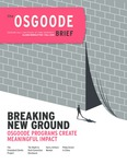 The Osgoode Brief (Fall 2019) by Osgoode Hall Law School of York University