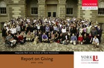 Report on Giving: 2002 - 2003 by Osgoode Hall Law School of York University